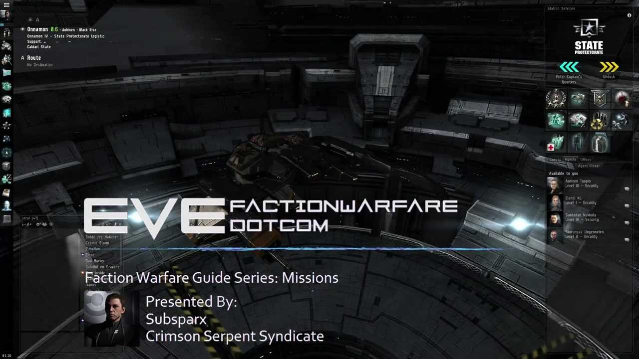 Guide: How to make ISK with Factional Warfare missions