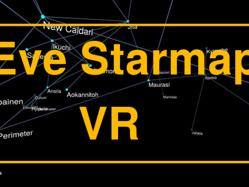 Oculus Rift: Explore the Eve Online starmap in Virtual Reality